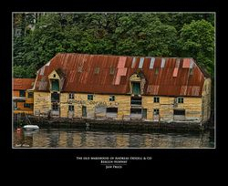 The Old Warehouse of Andreas Odfjell & Co Bergen-Norway
