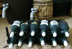 Wine bottles made from eye-drop containers