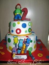 CAKE 23A2- Handy Manny Cake