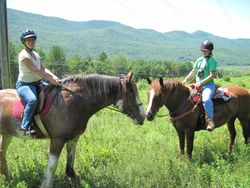 First Trail Ride 7-16-11