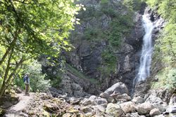Copper Mine Brook Waterfall