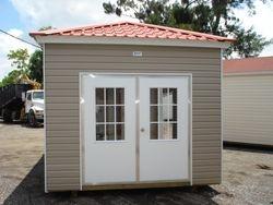 12 x16 with double colonial door