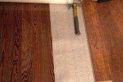 New floor vs. old floor