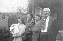 McClincy Family - 5 Generations