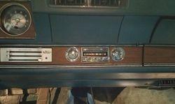 1970 Olds 442 New Radio w Bluetooth