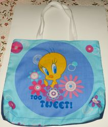 Tweety bird tote on Etsy