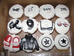 CC25 -Converse-themed Cupcakes