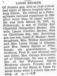 Becker, Louis 1948