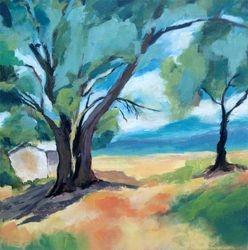 Cabane dans les chênes