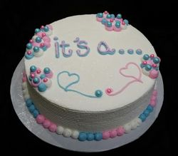 Gender Reveal Cake...