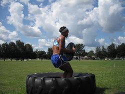 Weighted tire jumps 5