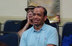 Richard Olaya (NJ) and Hunnee (NY) listens