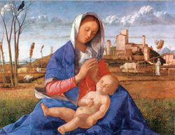Bellini, Madonna of Humility, c. 1510, London