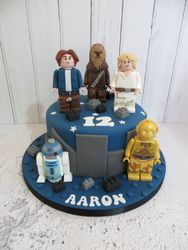 Lego Star Wars Birthday Cake