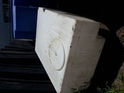 Pick up truck water tank low profile