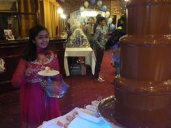 Eastern pearl banqueting manchester, chocolate fountain hire.