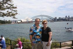Lynda and Randy in Sydney