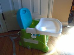 Fisher Price Healthy Care Booster Seat High Chair - $18