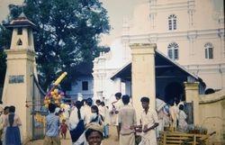 345 Novena crowd to Church Cochin