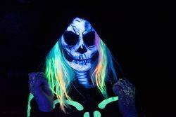 Skeleton Black Light