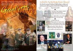 Gael's Fire Invite Poster