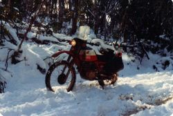 1980 Alpine Rally @ Perkins Flat - Glenn's XL500