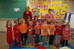 2014-2015 Kindergarten Class