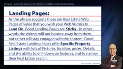 Landing Pages - Real Estate SEO Short Definition