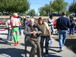 Dr. Moser at Run for ALD - 2006