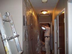 Preparation Wall Clear Plastic