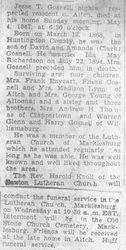 Gosnell, Jesse 1947
