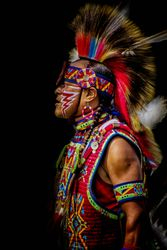 Native American by Marilyn Victor (HM)