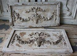 SOLD #19/203B Ornate Panels Louis XVI SOLD