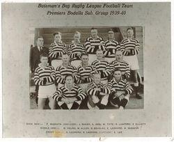 Batemans Bay Football Team, 1939