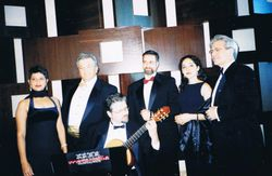 With Musicalia, Miami, Florida, 2001