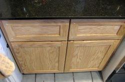 Shaker style base cabinet