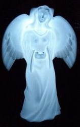 Solar Angel at night