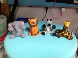 Fondant Baby Animals