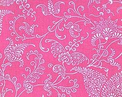 Small Paisley Pink