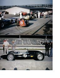 1st day qualifying 1961 at Indy