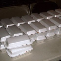 Meals ready for distribution