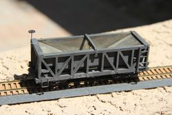 Nevada & California - Philip Richard - #350 Hopper Car - O scale