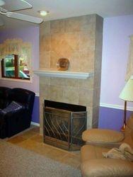 12x12 Ceramic  Fireplace