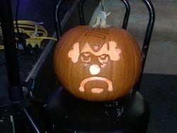 Scott our SWAGster good luck pumpkin