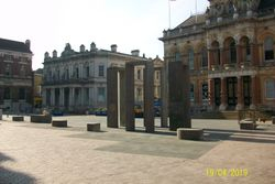 Four Gateways Sculpture - Cornhill