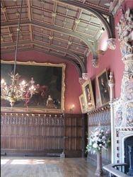 Powderham Castle, Devon - Great Hall