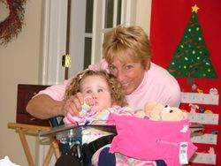 Gramma and Meggy.