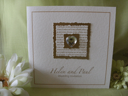Crystal Heart and Gold Vows
