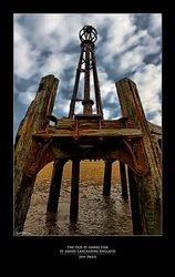 The Old St Annes Pier St Annes-Lancashire-England (Detail)