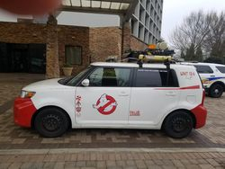 Japanese Ghostbusters Vehicle